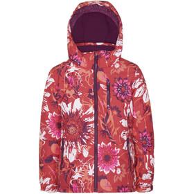 Kamik Cassia Jacket Girls, czerwony/różowy